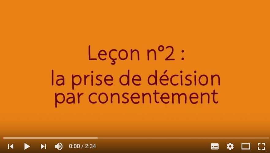 La décision par consentement, quand et comment l'utiliser?