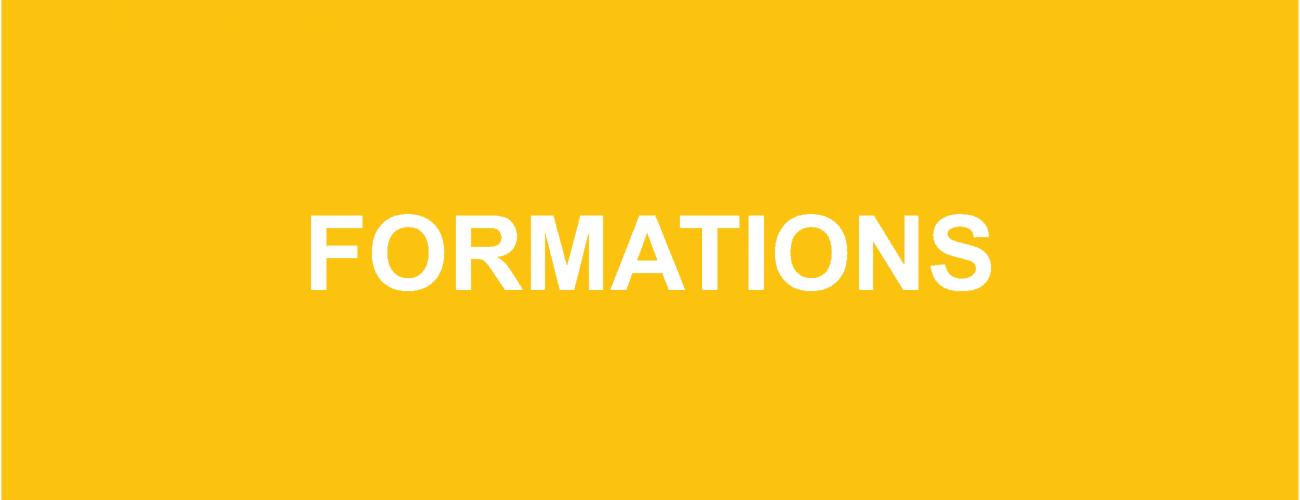 Formations ASBL – 1er semestre 2020