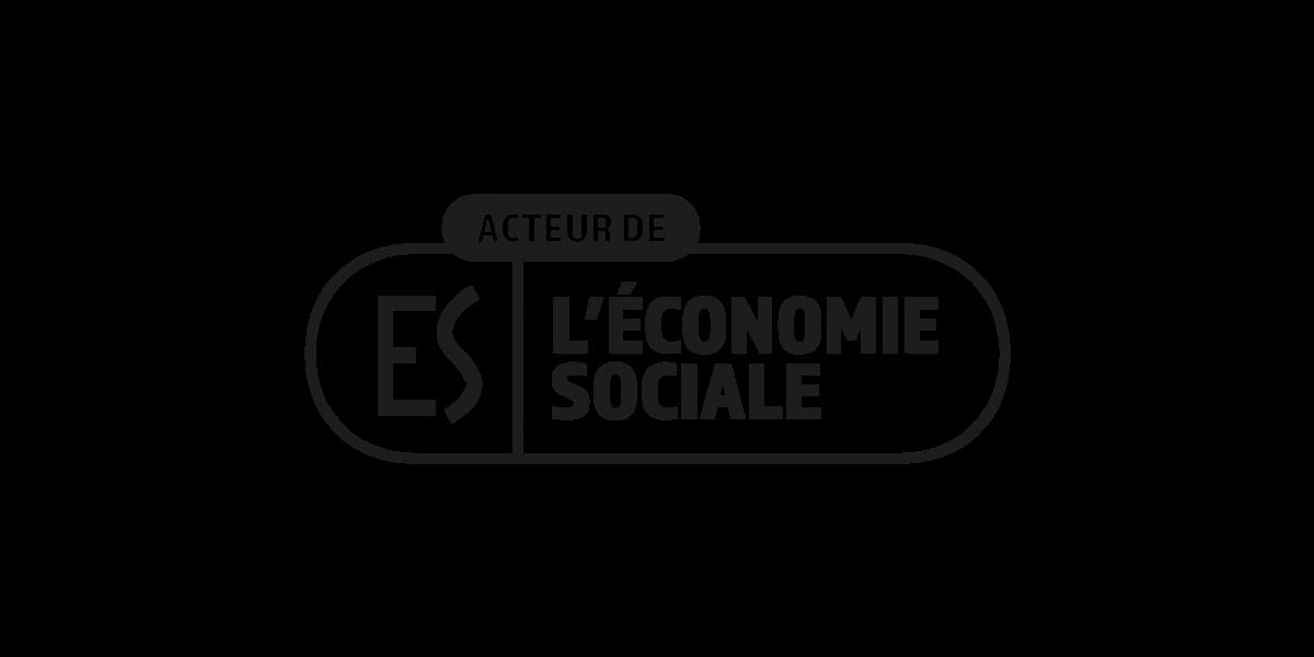 Logo ES acteur de l'économie sociale
