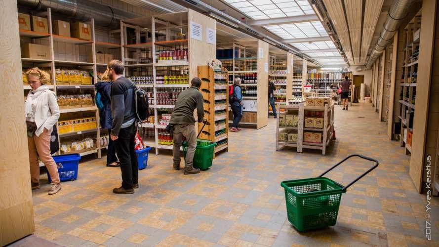 BEES Coop, magasin coopératif bruxellois